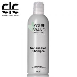 Private Label- Natural Aloe Shampoo Front
